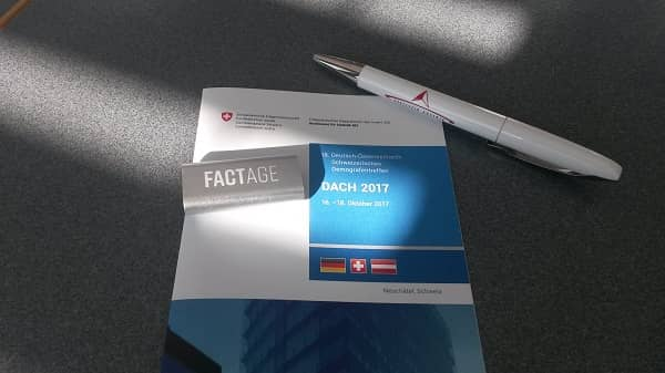 FACTAGE presentation at DACH 2017 in Neuchâtel